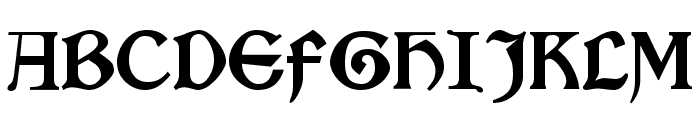 Satanick Regular Font UPPERCASE