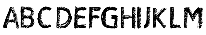 Satin Stitch Bold Font UPPERCASE