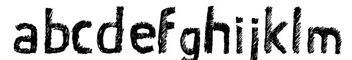 Satin Stitch Bold Font LOWERCASE