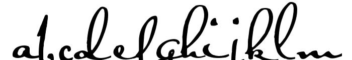 Satisfaction Font LOWERCASE