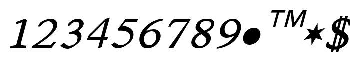 Satluj Italic Font UPPERCASE