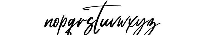 Satturday Collection Font LOWERCASE