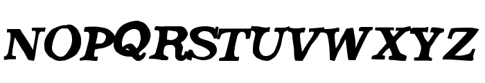 SaturdayEvening Font UPPERCASE