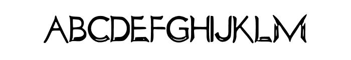 SaturdayMorningHand Font UPPERCASE
