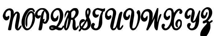 SaturdaysGirl Font UPPERCASE