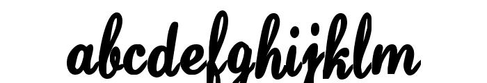 SaturdaysGirl Font LOWERCASE