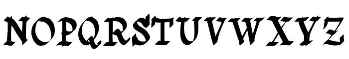 Saturno Font UPPERCASE