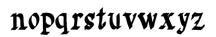 Saturno Font LOWERCASE