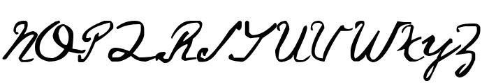 Saucy Jack Font UPPERCASE