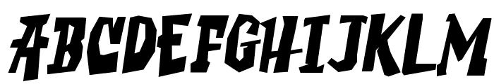 SaucyMillionaire Font UPPERCASE