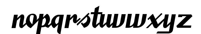 SaucyMillionaire Font LOWERCASE
