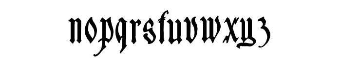 Sauerkraut Font LOWERCASE
