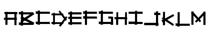 Savage Empire Font LOWERCASE