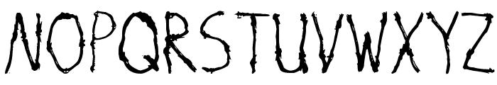 Savage Font UPPERCASE