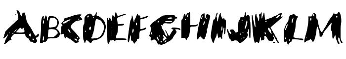 SavagePoet Font UPPERCASE
