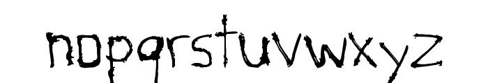Savage Font LOWERCASE