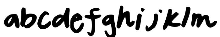 SavannahsFont Font LOWERCASE