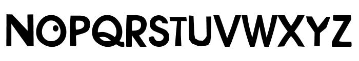 Savant Barden DemiBold Font UPPERCASE