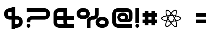 SavedByZero-Regular Font OTHER CHARS