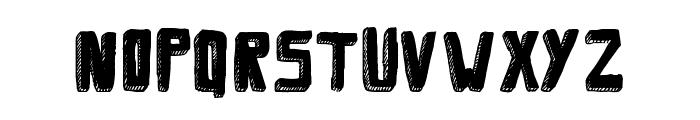 Savia Filled Shadow // ANTIPIXEL.COM.AR Font UPPERCASE
