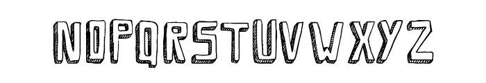 Savia Shadow // ANTIPIXEL.COM.AR Font UPPERCASE
