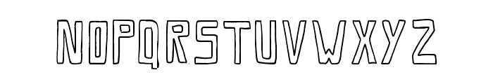 SaviaOutline//ANTIPIXEL.COM.AR Font UPPERCASE