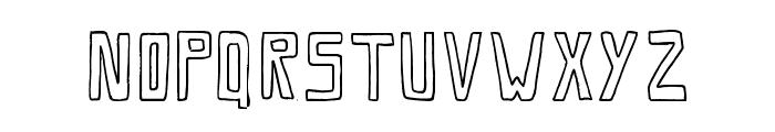 SaviaOutline//ANTIPIXEL.COM.AR Font LOWERCASE