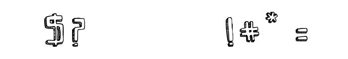 SaviaShadow//ANTIPIXEL.COM.AR Font OTHER CHARS