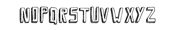 SaviaShadow//ANTIPIXEL.COM.AR Font UPPERCASE
