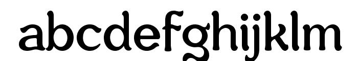 Savor Font LOWERCASE