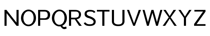 Sawarabi Gothic Font UPPERCASE