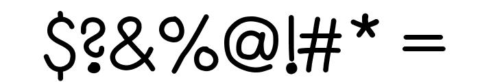 SayingGoodbye Font OTHER CHARS