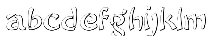 SayonaraBeveled Font LOWERCASE