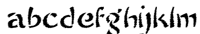 SayonaraTrashFree Font LOWERCASE