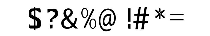 sans Font OTHER CHARS