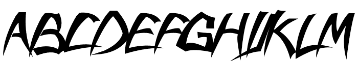 savatage Font UPPERCASE