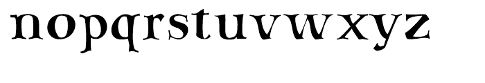 SAV PT Display Font LOWERCASE