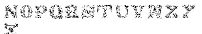 Sacnoth Regular Font UPPERCASE