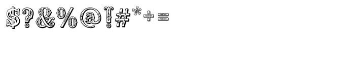 Saddlery Regular Font OTHER CHARS
