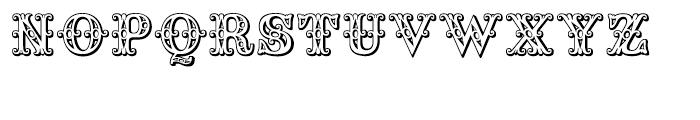 Saddlery Regular Font UPPERCASE