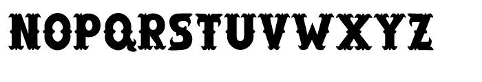 Salloon Regular Font UPPERCASE