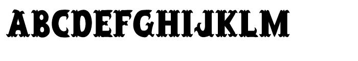 Salloon Regular Font LOWERCASE