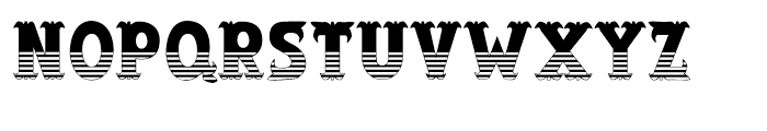 Salloon Stripe Bottom Font LOWERCASE