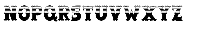 Salloon Stripe Top Font UPPERCASE