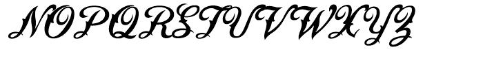 Saloonkeeper Regular Font UPPERCASE