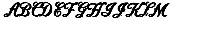 Saloonkeeper Shadow Layer Font UPPERCASE