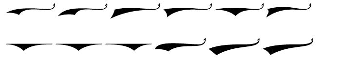 Saloonkeeper Swashes Font UPPERCASE