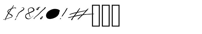Salvador Regular Font OTHER CHARS