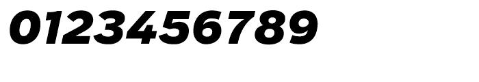 Salvo Sans Black Italic Font OTHER CHARS