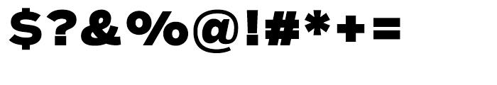 Salvo Sans Black Font OTHER CHARS